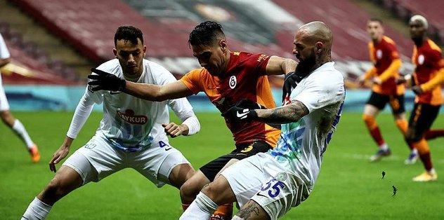 Galatasaray sahasında 11 maç sonra kaybetti
