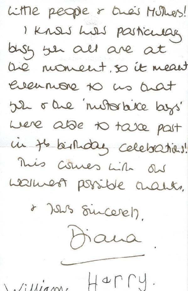 Prenses Diana'nın mektupları 67 bin 900 sterline satıldı