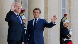 Tunus ve Fransa liderleri arasında Libya görüşmesi