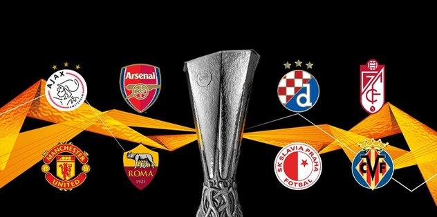 UEFA Avrupa Ligi'nde kuralar çekildi! İşte eşleşmeler