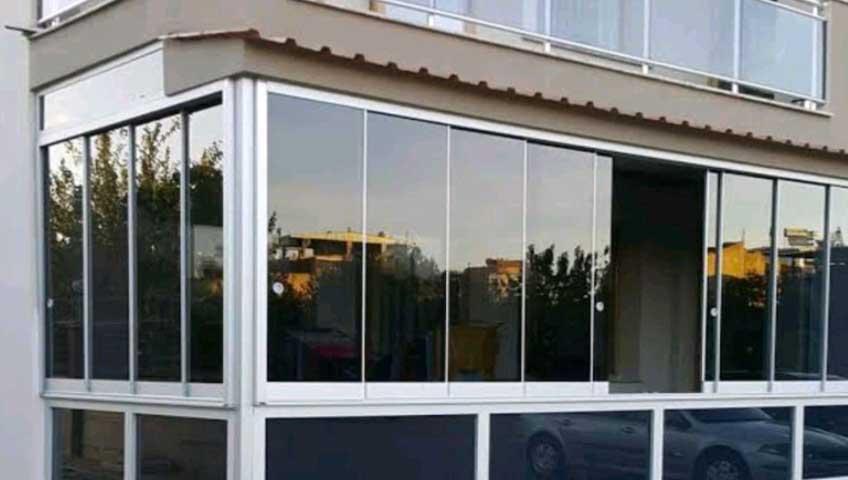 Ticari Bina İçin Cam Balkon